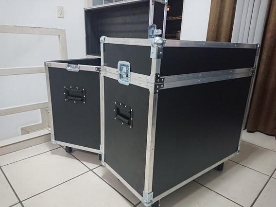 2 Cases Baú Para Caixa De Som 10 E 12