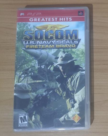 Socom U.s. Navy Seals Fireteam Bravo - Psp - Original !!!