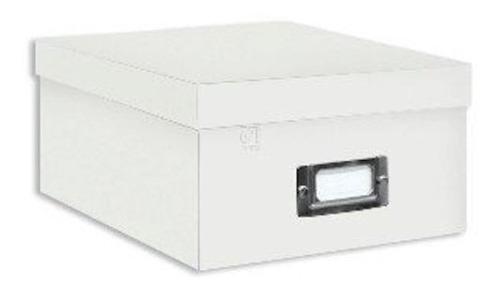 Caja De Almacenamiento De Fotos Blanca | Pioneer Photo Album