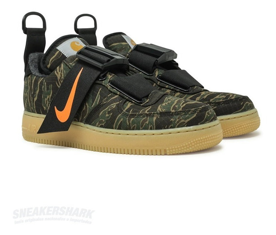 Nike Air Force One Utility Prime Wip Camo Sneakershark