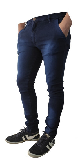 Jean Chupin Elastizado Bolsillo Chino Pantalon