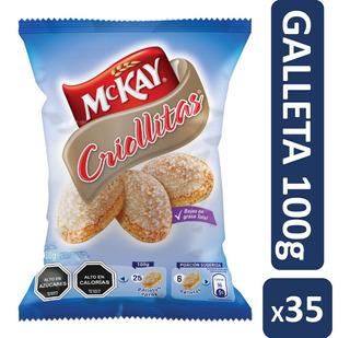 Galleta Mckay Criollita 100g Pack X35