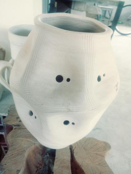 Vaso Ceramico,luminária Rústica,decoração,jardim, Paisagismo