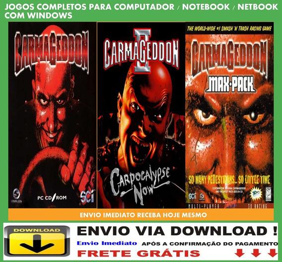 Carmageddon 3 Jogos Pc Envio Digital Grátis