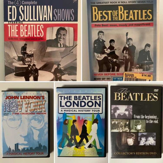 The Beatles: 5 Ediciones De Dvds Coleccionables