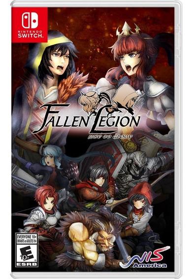Fallen Legion : Rise To Glory Switch Mídia Física