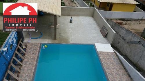 2 Casas - Piscina + Churrasqueira - Condomínio Cruzeiro - 1203