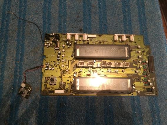 Placa Da Frente Do Aparelho Som Aiwa Modelo Cx-nf12lh