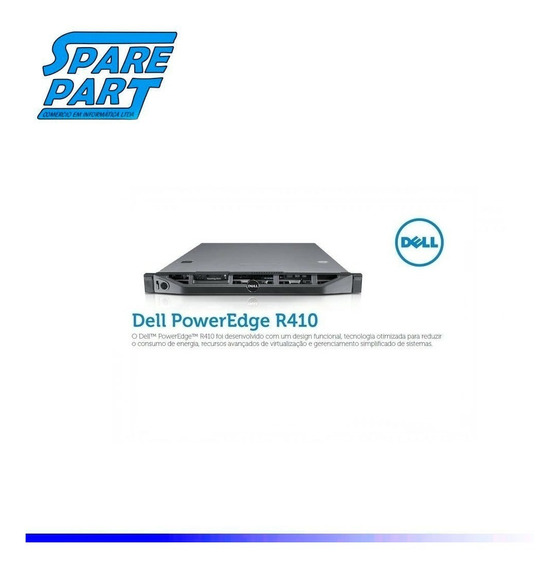 Servidor Dell R410 - 2 Six Core 32 Gb 2xssd 240gb 2xsas 1tb