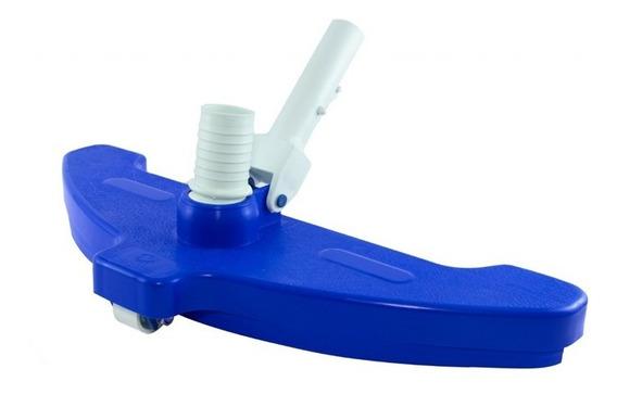 Aspirador Jumbo 3 Rodas Para Limpeza Piscina Grande Olimpica