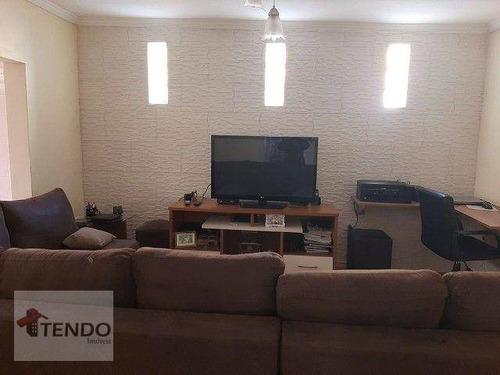 Imagem 1 de 15 de Imob03 - Casa 250 M² - Venda - 3 Dormitórios - Jardim Zaira - Mauá/sp - Ca0826