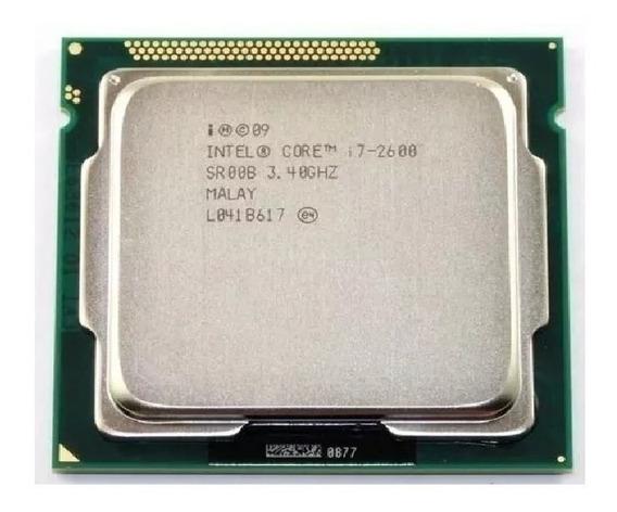 Processador Intel Core I7 2600 1155 3.4 - 3.8gh Envio Já !!