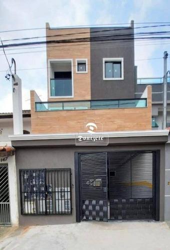 Imagem 1 de 6 de Apartamento À Venda, 37 M² Por R$ 259.000,00 - Vila Curuçá - Santo André/sp - Ap16373