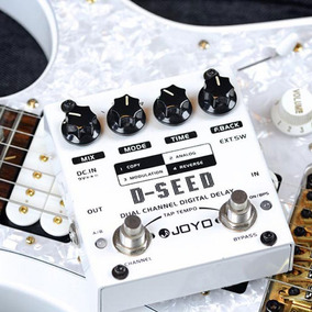 Pedal Guitarra Joyo D Seed Digital Delay (pronta Entrega)