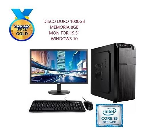 Computador Cpu Intel Core I5 9na Gen 1tb 8gb Led 20  Inc Iva