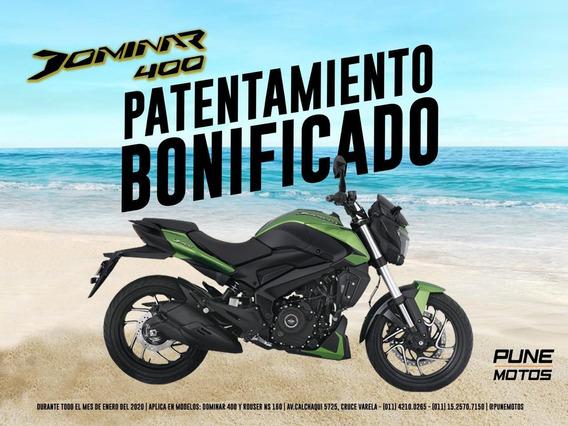Bajaj Nueva Dominar 400 0km 2020 Ahora 12/18 Pune Motos
