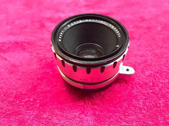 Lente Meyer Optik Gorlitz Domiron 2/50mm