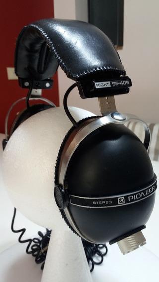Pioneer Se 405 Stereo Headphones Antigo