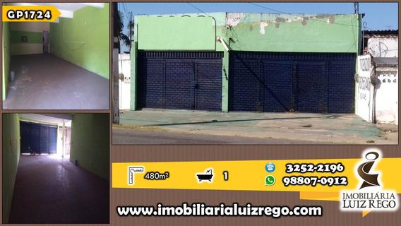 Gp1724- Aluga Galpão No Bonsucesso, 480m2,com Estacionamento