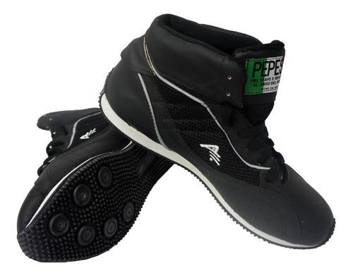 Imagen 1 de 4 de Botas De Boxeo Zapatillas Pepesa Tipo Corta Piel