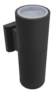 Luminaria Exterior 2 Luces 26cm Color Negro Lh2096