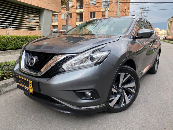 Nissan Murano Exclusive 3.500cc A/t 6ab Fe Sun Roof 4wd 2016