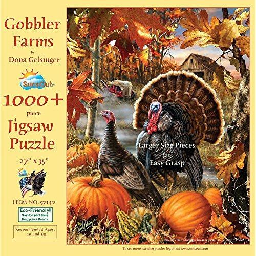 Gobbler Farms Puzzle De 1000 Piezas (piezas Grandes)