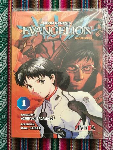 Imagen 1 de 1 de Manga Neogenesis Evangelion Edicion Deluxe Tomo 01 Argentina