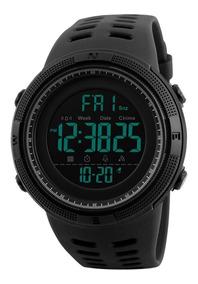 Relógio Digital Militar Skmei Conquer - Corrida Natação Ots