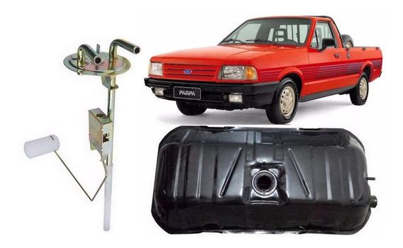 Tanque Combustível Ford Pampa 4x2 83 A 96 + Boia Gasolina