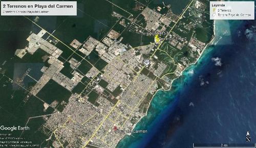Imagen 1 de 9 de Terreno Comercial Venta Playa Del Carmen