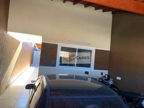 Casa Com 2 Dormitórios À Venda, 125 M² Por R$ 255.000,00 - Loteamento Residencial Novo Mundo - Campinas/sp - Ca3083