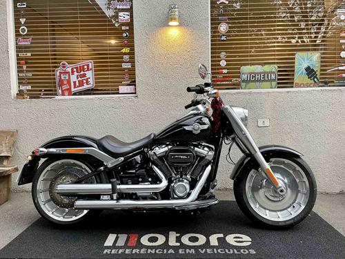 Imagem 1 de 12 de Harley Davidson - Fat Boy 107 - Preta - 19/19 - 7.700km