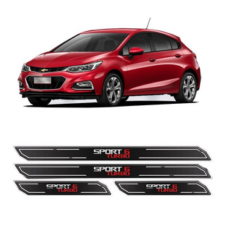 Kit Soleira Da Porta Diamante Cruze Turbo Sport 6 Resinada