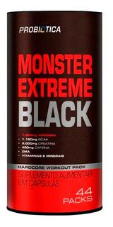 Monster Extreme Black 44 Packs - Novo - Promoção