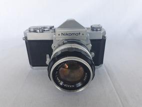 Nikon Nikomat 50mm 1.4 Capa Antigo