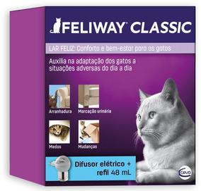 Feliway Completo Ceva - Difusor Eletrico + Refil 48 Ml 02/22