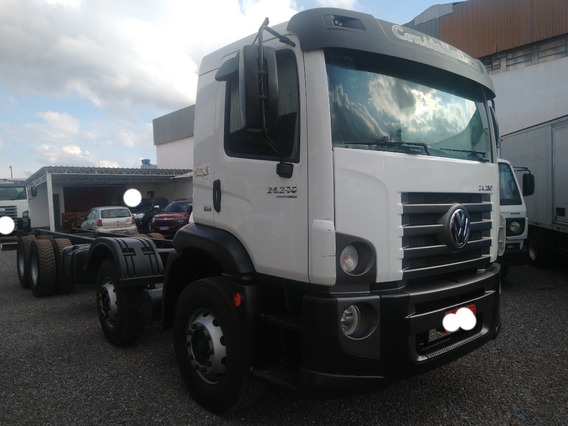 Vw 24280/15 Branco 8x2 Chassis Completo