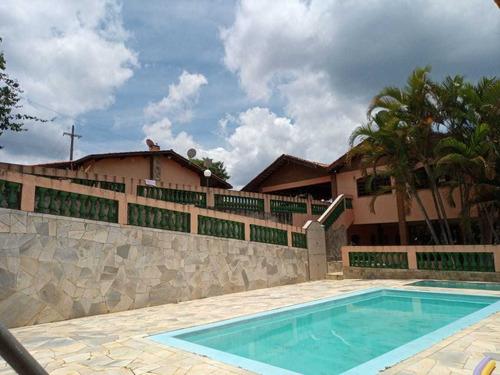 4.500 M², Casa Sede Com 05 Dormitórios, Piscina !!