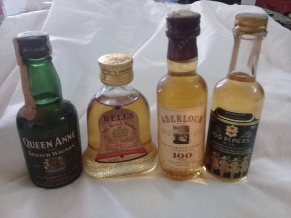 Botellitas En Miniatura Whisky Escocia Bells Lote 14c