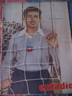 Estadio N°823, 5 Mar 1959 Raul Coloma /cptan. Gaston Zuñiga