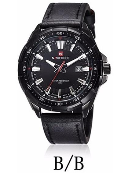 Relógio De Pulso Masculino Original Naviforce Com Caixa 9056