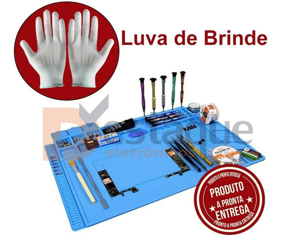 Manta Magnetica Antiestatica 300 X 450 + Luva Brinde
