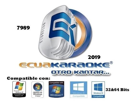 Ecuakareoke 2019 (7989) Y Poco Mas