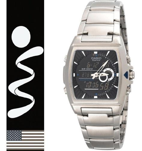 Reloj Casio Edifice Efa-120 Analogo Digital Metalico Origina