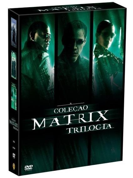 Box Dvd Matrix Trilogia Reloaded Revolutions