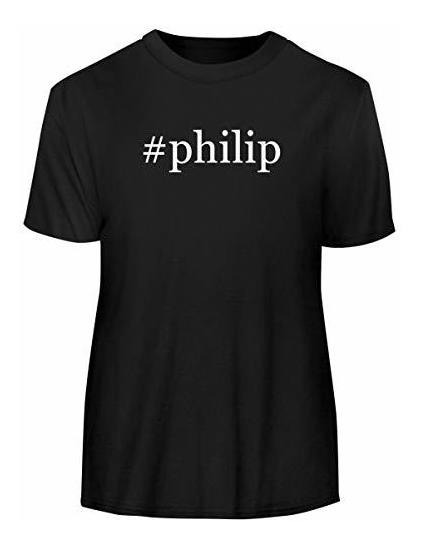 Philip - Camiseta De Manga Corta Para Hombre, Diseño De Hash