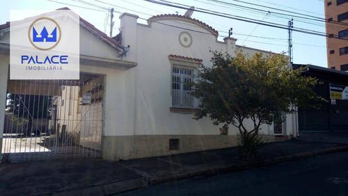 Casas Com Localização Privilegiada E Perfil Comercial Para Reforma Ou Demolição Com Terreno De 396 M² - Ca0855