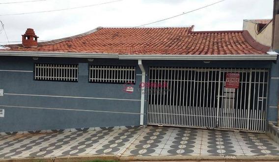 Casa Residencial À Venda, Jardim João Paulo Ii, Sumaré. - Ca0147
