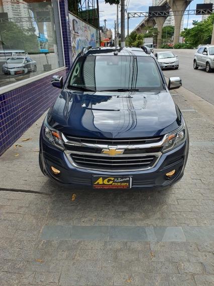 Chevrolet S10 Cab Dupla Ltz Flex 4x4 Azul Mec 2017 Completa